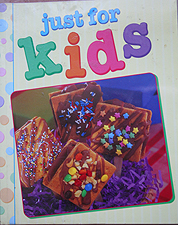 Just for Kids Cookbook for children cooking